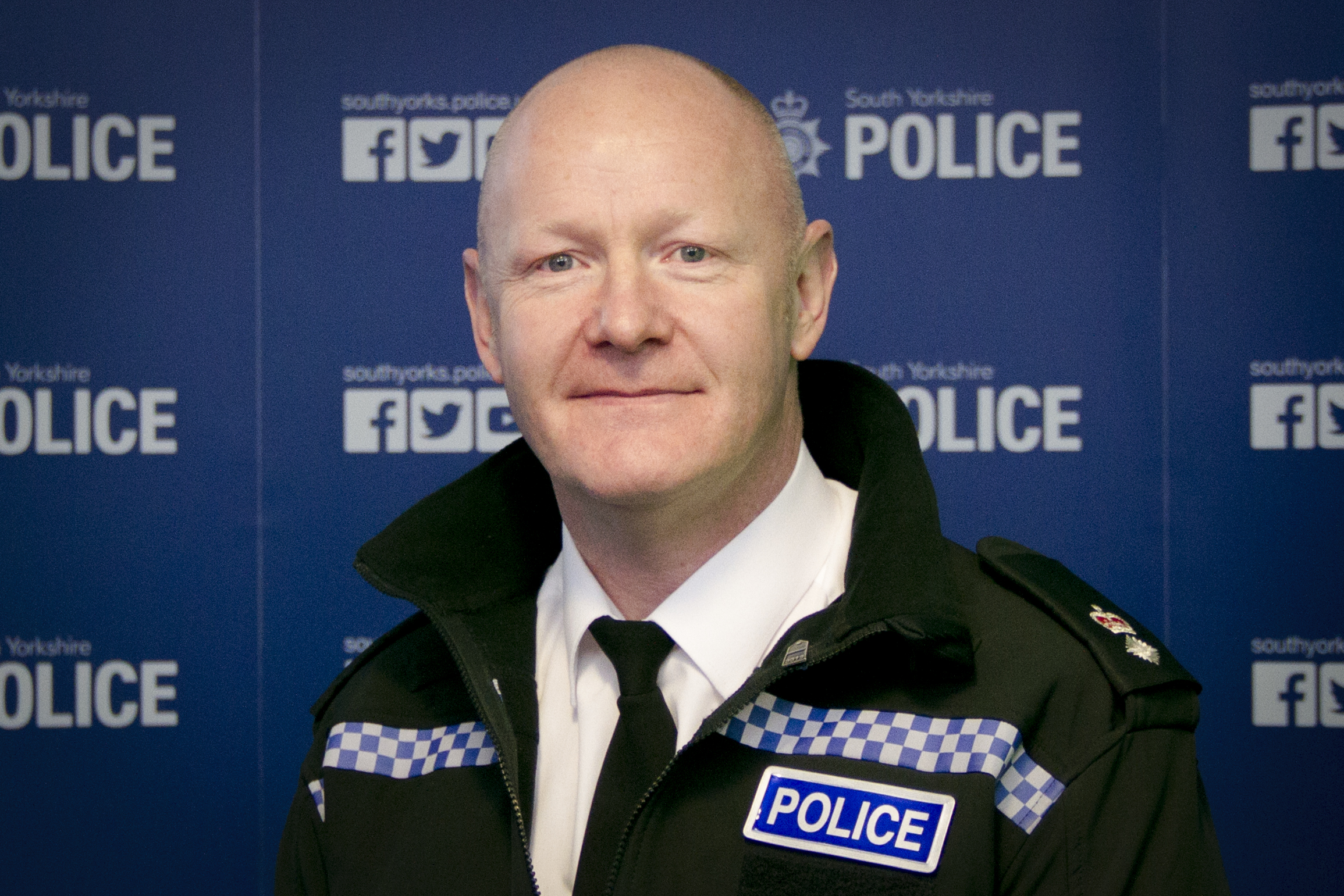 Chief Superintendent Stuart Barton